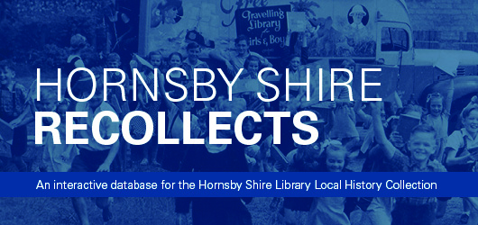 Hornsby Shire Recollects