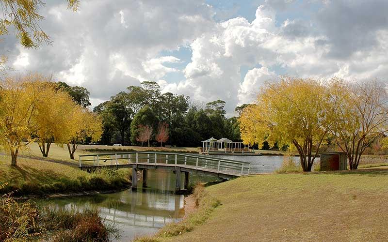 Fagan Park Lake and Bridge