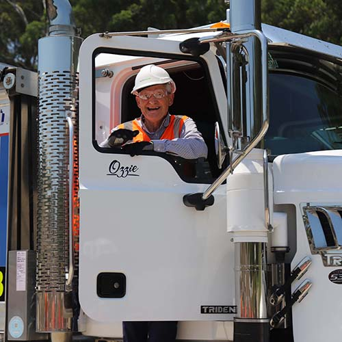 Mayro Philip Ruddock on NorthConnex truck