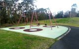 Brickpit Park swings