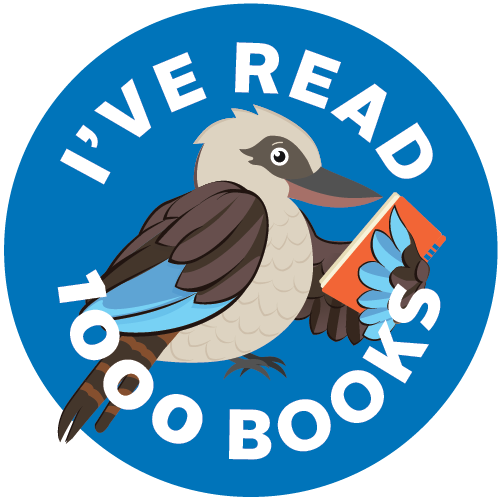 I've read 1000 books logo