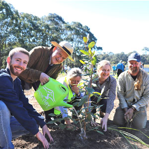 National Tree Day planting