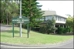 Photograph of Berowra Library.