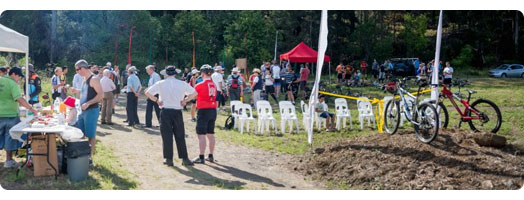 Hornsby Mountain Bike trail opening