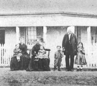 Photograph of the Belamy Family - location and date unknown