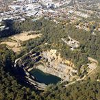Hornsby Quarry aerial photo