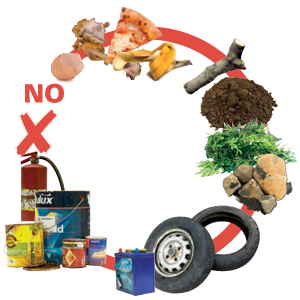 bulky waste unaccepted items