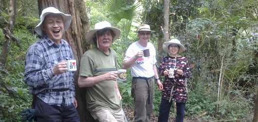 Bushcare volunteers