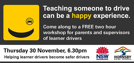 Teach your learner driver