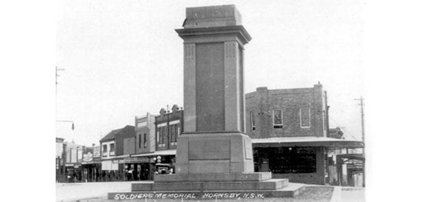 Hornsby war memorial