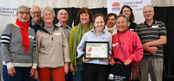 floating landcare regional award