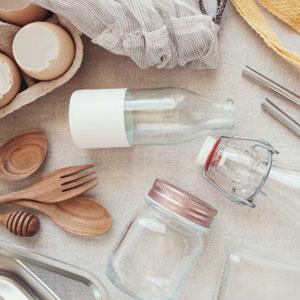 plastic free household items