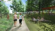 Westleigh Park walking track 2 – concept