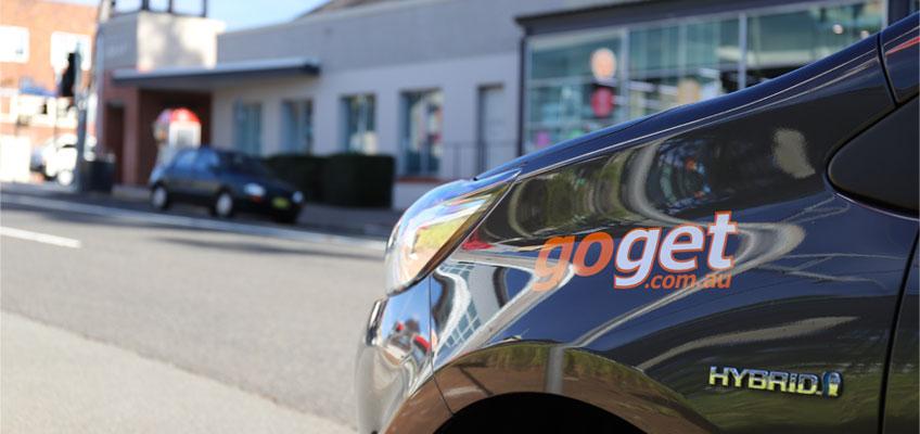 GoGet car in Pennant Hills