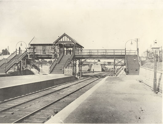 hornsby railway station