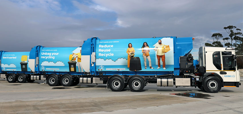 Waste trucks new