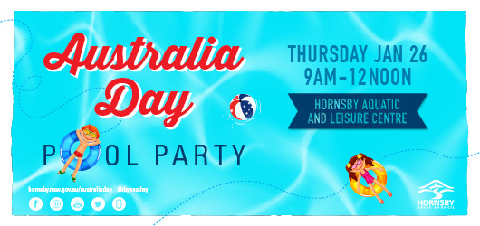 Australia Day Pool Party 2017