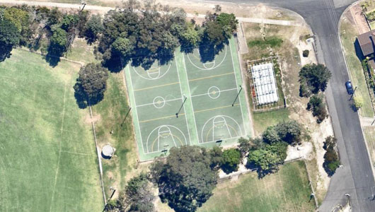 Warrina Street Netbal Courts