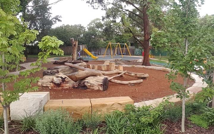 Asquith Park play equipment