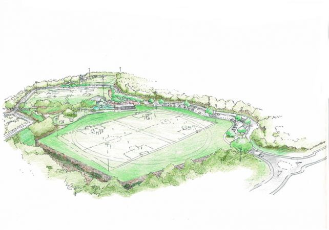 Westleigh Park South Sports – concept