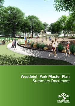 Westliegh Park draft master plan cover