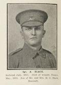 Photograph of Sergeant Alwyn Rufus Black