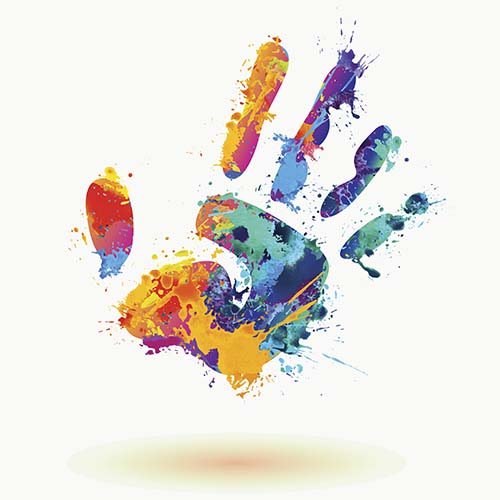kids handprint