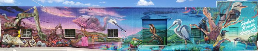 CRC Mural complete panoramic