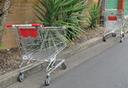 Abandoned shopping trolleys