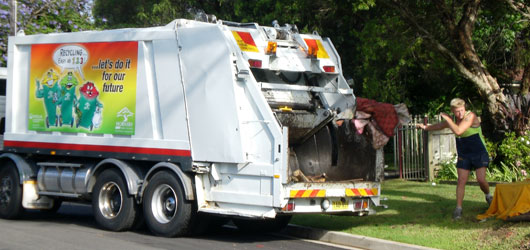 Bulky waste collection kerbside cleanup hornsby shire council
