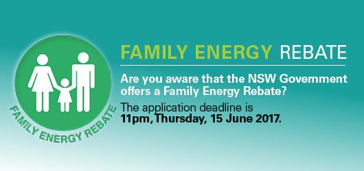 Family Energy Rebate