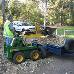 Chipping for mulch