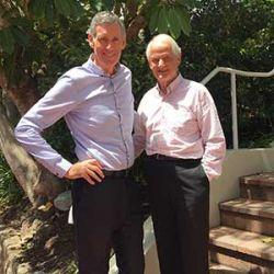 Steven Head and Mayor Philip Ruddock