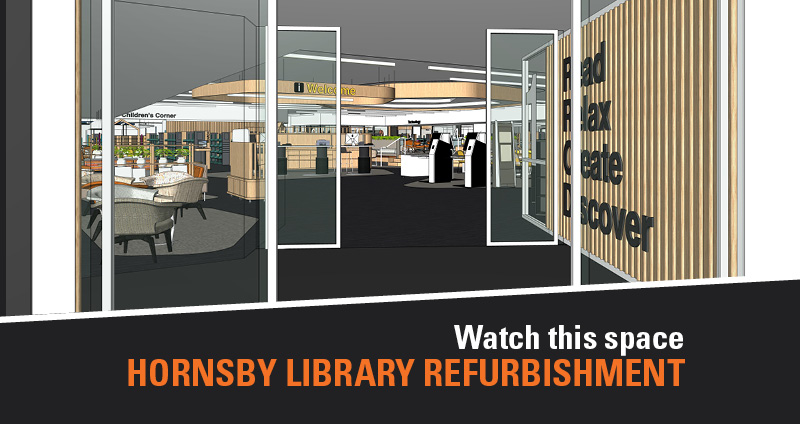 Hornsby Library refurbishment concept