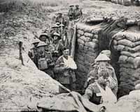 Photos of the trenches