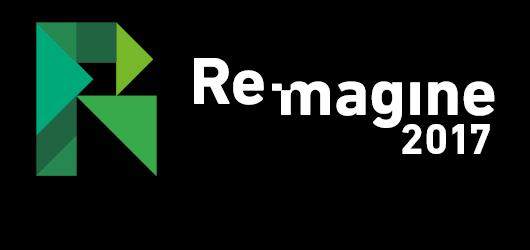Re-magine logo