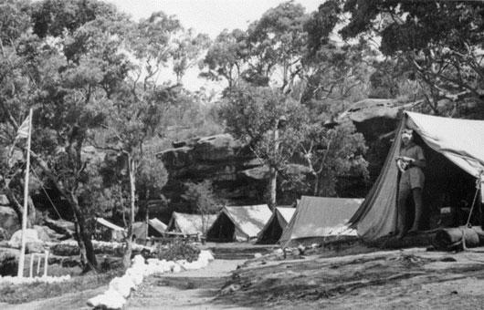Refuge Bay WW2