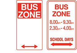 Bus Zones