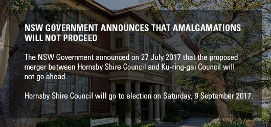 Amalgamation will not proceed