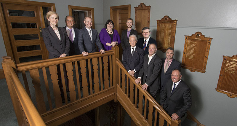 councillors stairs