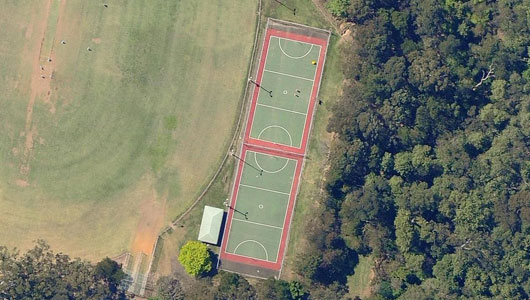 Normanhurst Oval Netball Courts