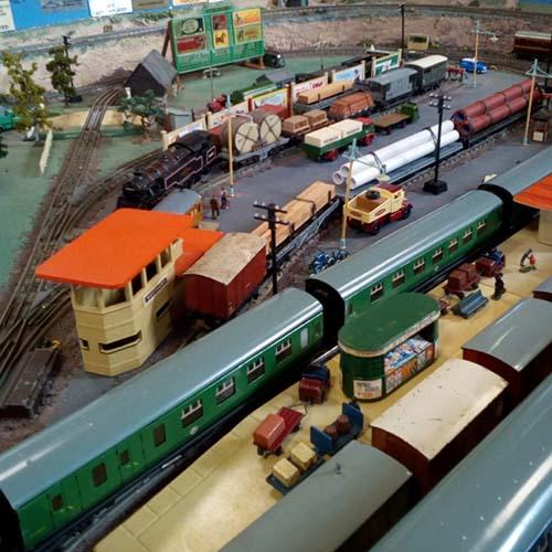 St Luke's model train exhibition