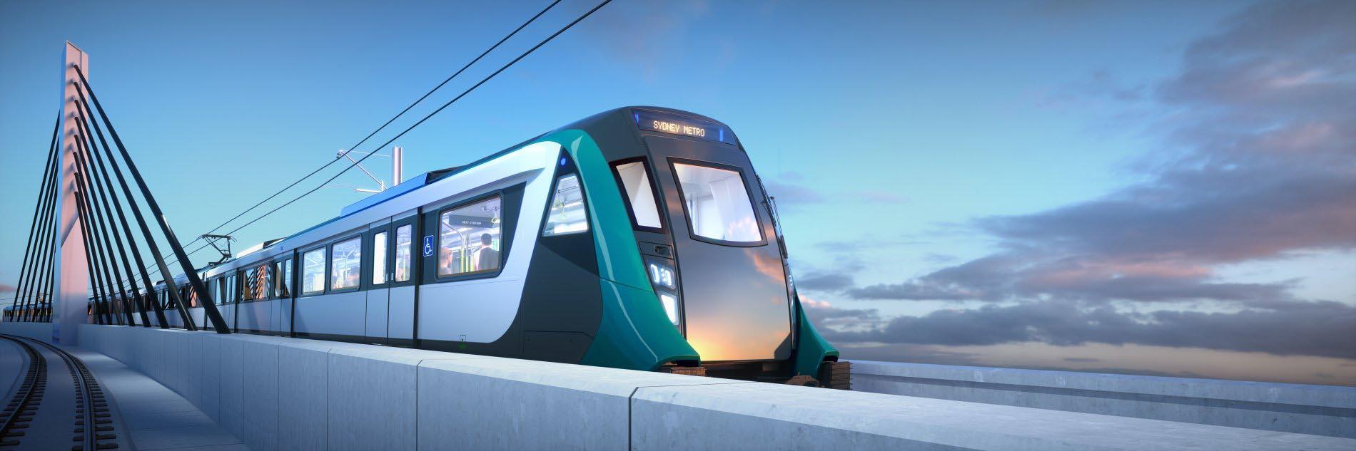 TrainonBridgeHeroSunsetTealSydneyMetro6k.jpg