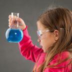 science girl beaker
