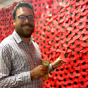 Poppy Wall - Hornsby library