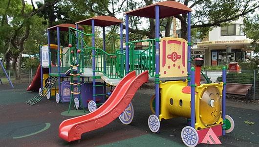 Playground at Beecroft Railway Station Gardens