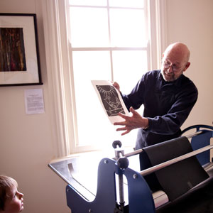 local print maker John Crawford