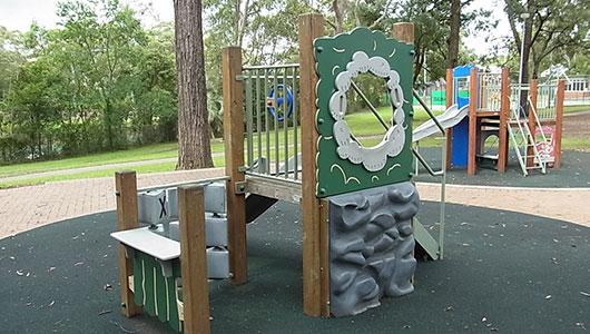 The Village Green playground