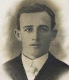 Portrait photograph of Percy Allen