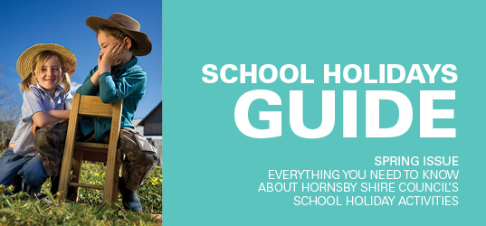 School Holiday Activities Spring 2015